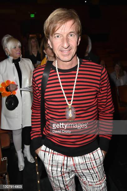 Nick Kramer attends the House Of Cardin Special Screening At Palm Springs Modernism Week at The Plaza Theater on February 21 2020 in Palm Springs...