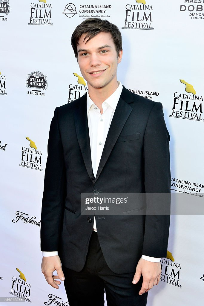 Nick Krause arrives at the 2014 Catalina Film Festival Premiere of 'Rudderless' on September 27, 2014 in Catalina Island, California.