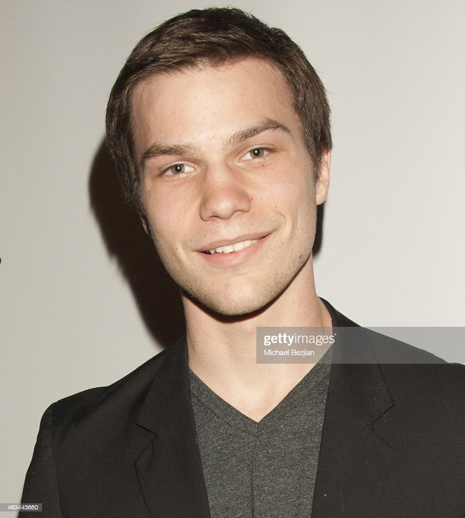 Nick Krause attends 'White Rabbit' Los Angeles Premiere - A Bullying Prevention Initiative at Laemmle's Music Hall 3 on February 13, 2015 in Beverly Hills, California.