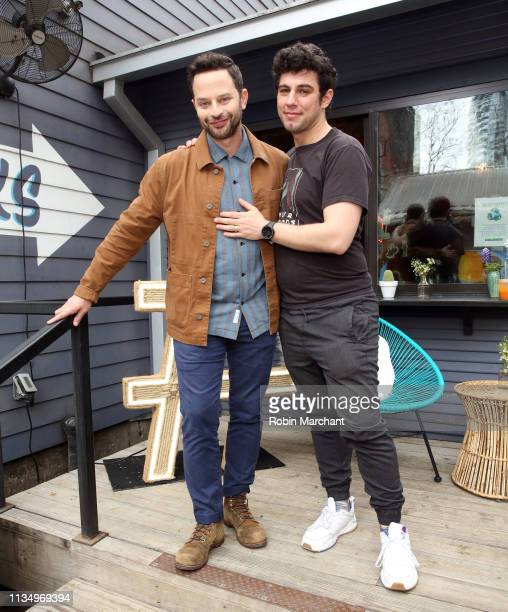 Nick Kroll and Jeremy Teicher at #TwitterHouse during SXSW on March 10 2019 in Austin Texas
