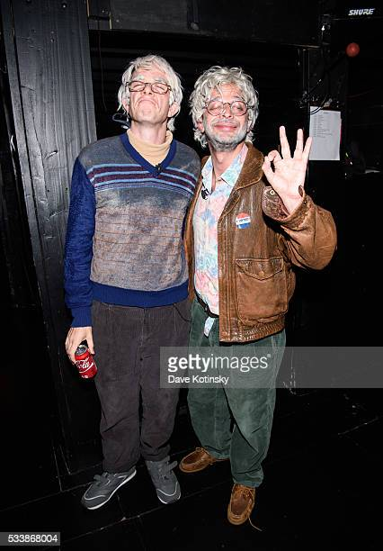 Nick Kroll and John Mulaney attend the 3rd Annual LOL With LLS on May 23 2016 in New York City