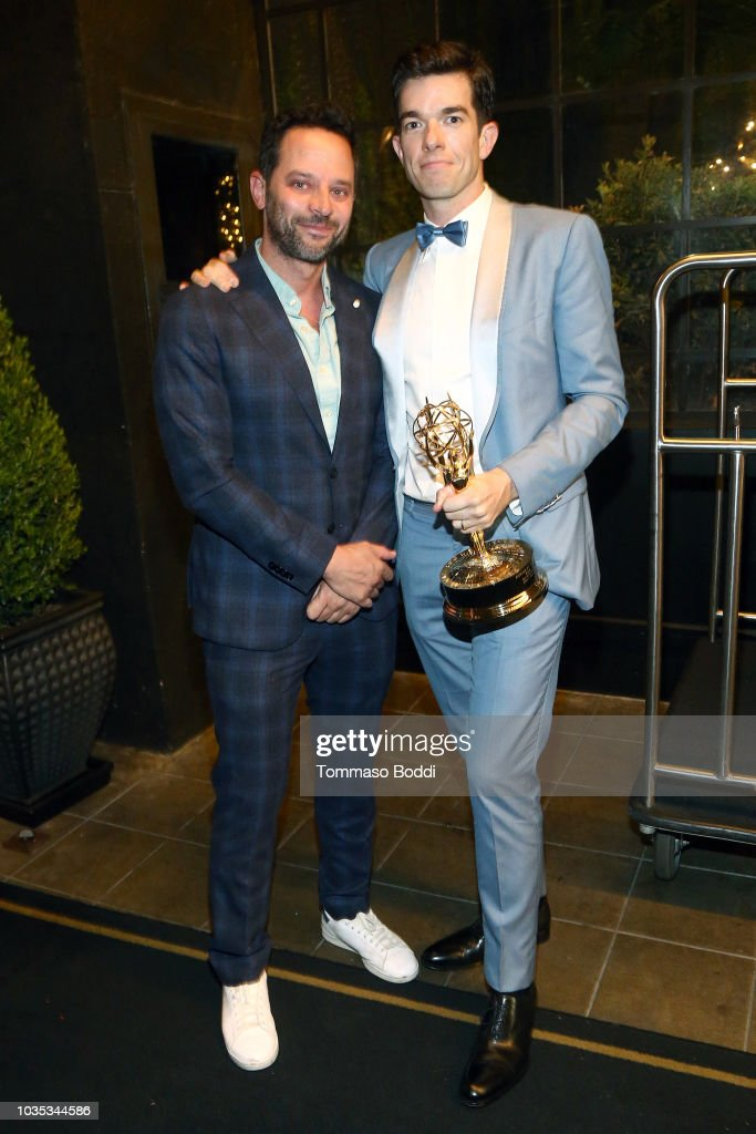 Michael Che and Colin Jost's Emmys After Party presented by Google (captured on Google Pixel) : News Photo