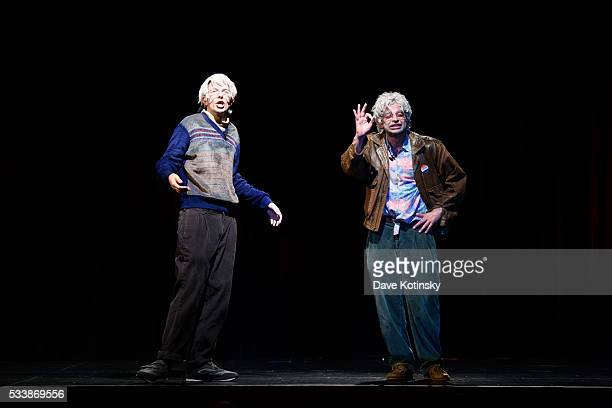 Nick Kroll and John Mulaney perform at the 3rd Annual LOL With LLS on May 23 2016 in New York City