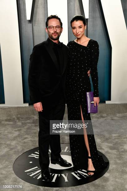 Nick Kroll and Lily Kwong attend the 2020 Vanity Fair Oscar Party hosted by Radhika Jones at Wallis Annenberg Center for the Performing Arts on...