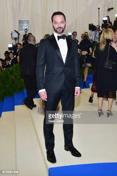Nick Kroll arrives 'Rei Kawakubo/Comme des Garcons Art Of The InBetween' Costume Institute Gala at The Metropolitan Museum on May 1 2017 in New York...