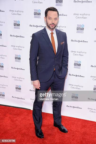 Nick Kroll attends IFP's 26th Annual Gotham Independent Film Awards at Cipriani, Wall Street on November 28, 2016 in New York City.