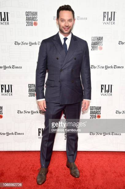 Nick Kroll attends IFP's 28th Annual Gotham Independent Film Awards at Cipriani Wall Street on November 26 2018 in New York City