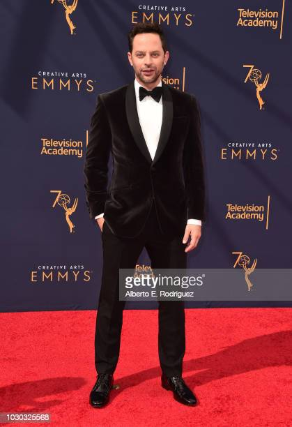 Nick Kroll attends the 2018 Creative Arts Emmys Day 2 at Microsoft Theater on September 9 2018 in Los Angeles California