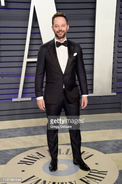 Nick Kroll attends the 2019 Vanity Fair Oscar Party hosted by Radhika Jones at Wallis Annenberg Center for the Performing Arts on February 24 2019 in...
