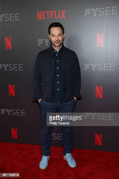 Nick Kroll attends the #NETFLIXFYSEE Animation Panel Featuring 'Big Mouth' and 'BoJack Horseman' at Netflix FYSEE at Raleigh Studios on May 21 2018...