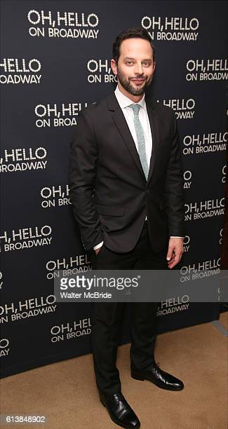 Nick Kroll attends the opening night performance after party press reception for 'Oh Hello On Broadway' at Brasserie 8 1/2 on October 10 2016 in New...