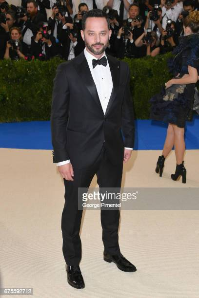 Nick Kroll attends the 'Rei Kawakubo/Comme des Garcons Art Of The InBetween' Costume Institute Gala at Metropolitan Museum of Art on May 1 2017 in...