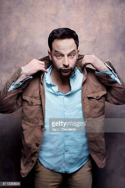 Nick Kroll of 'Joshy' poses for a portrait at the 2016 Sundance Film Festival on January 25 2016 in Park City Utah CREDIT MUST READ Jay L...