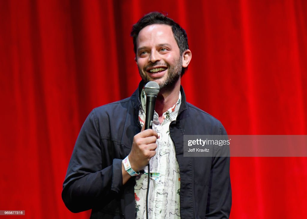 Nick Kroll performs on the Bill Graham Stage during Clusterfest at Civic Center Plaza and The Bill Graham Civic Auditorium on June 1, 2018 in San Francisco, California.