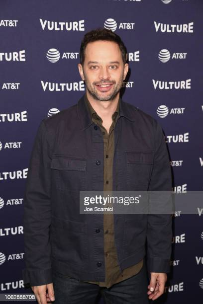 Nick Kroll speaks during the 'Big Mouth One Man Table Read' during Vulture Festival presented by ATT at Hollywood Roosevelt Hotel on November 17 2018...
