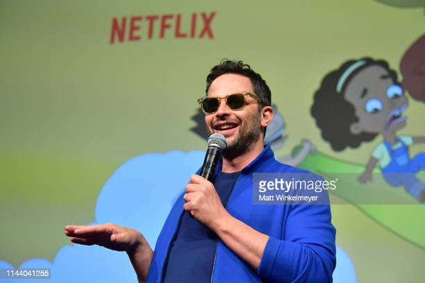 Nick Kroll speaks onstage at the Netflix Adult Animation QA and Reception on April 20 2019 in Hollywood California