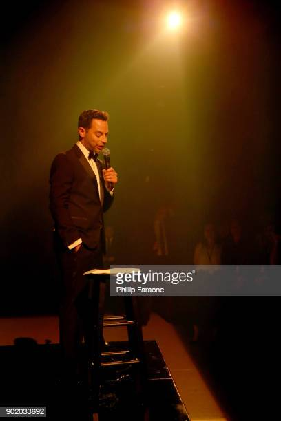 Nick Kroll The Art Of Elysium's 11th Annual Celebration with John Legend at Barker Hangar on January 6 2018 in Santa Monica California