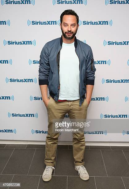 Nick Kroll visits at SiriusXM Studios on April 21 2015 in New York City