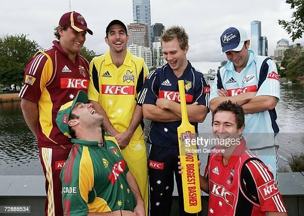 Nick Kruger of Queensland Travis Birt of Tasmania Peter Worthington of Western Australia Aiden Blizzard of Victoria Mark Cleary of South Australia...