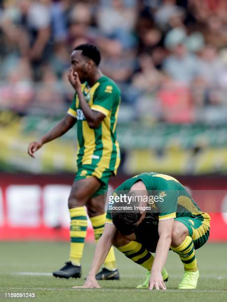 Nick Kuipers of ADO Den Haag during the Dutch Eredivisie match between ADO Den Haag v FC Utrecht at the Cars Jeans Stadium on August 4 2019 in Den...