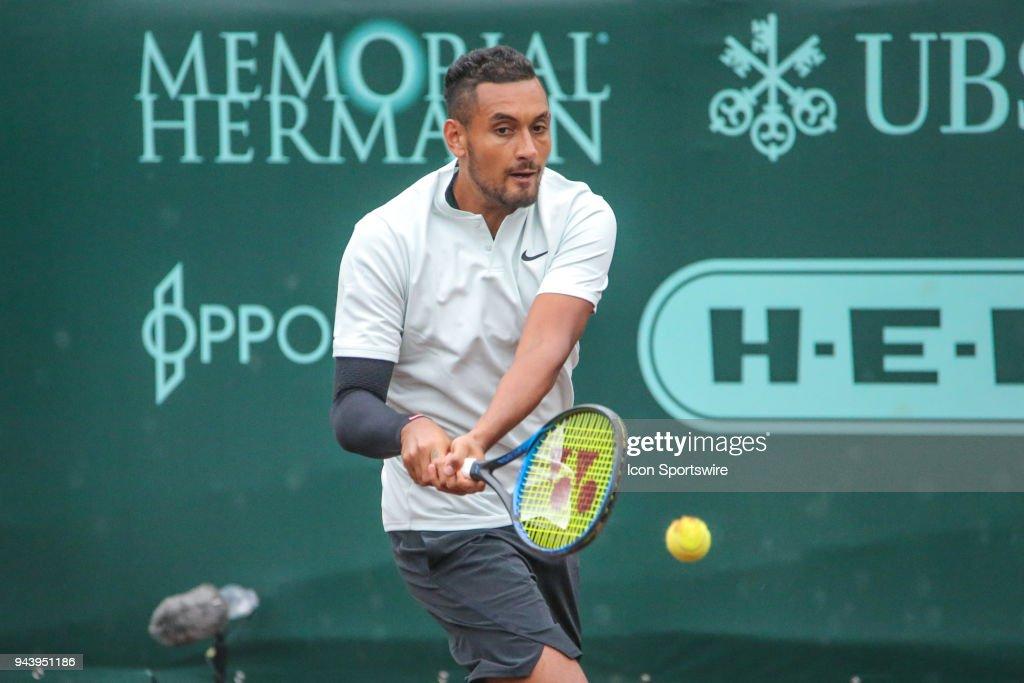 TENNIS: APR 09 US Men's Clay Court Championships : ニュース写真
