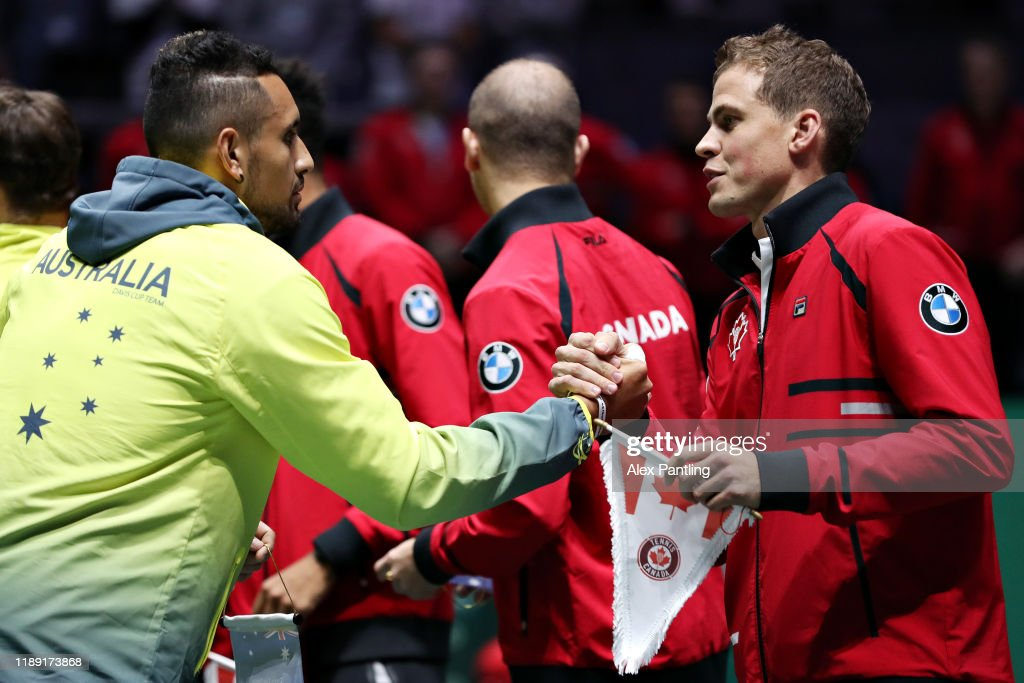 2019 Davis Cup - Day Four : News Photo
