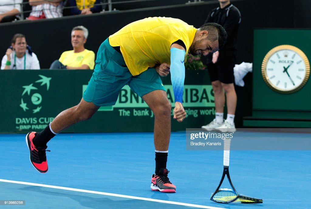 Davis Cup World Group First Round - Australia v Germany