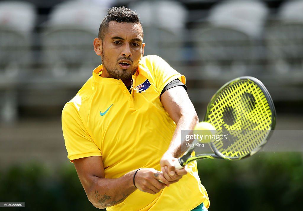 Davis Cup World Group Playoff - Australia v Slovakia : News Photo