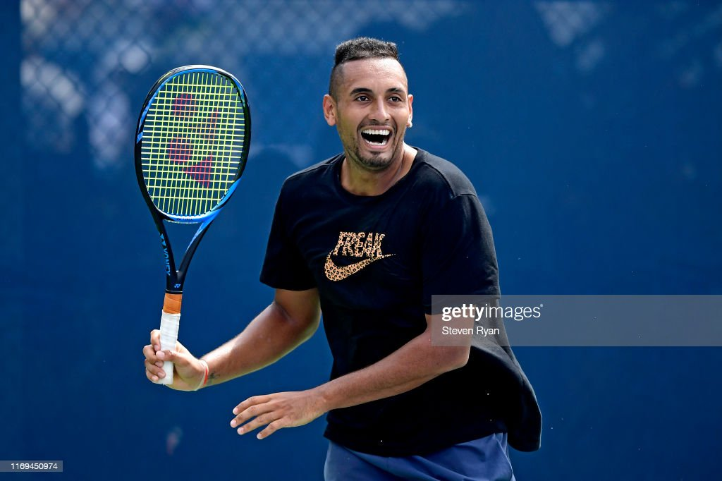 2019 US Open - Qualifying & Training : Photo d'actualité