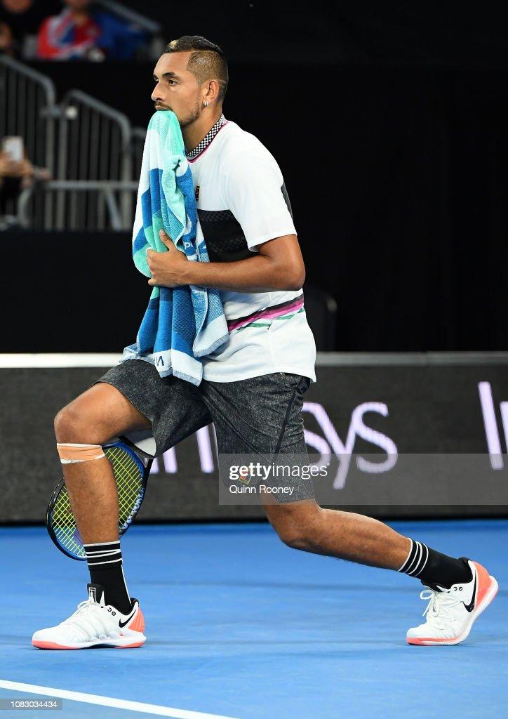 2019 Australian Open - Day 2 : News Photo