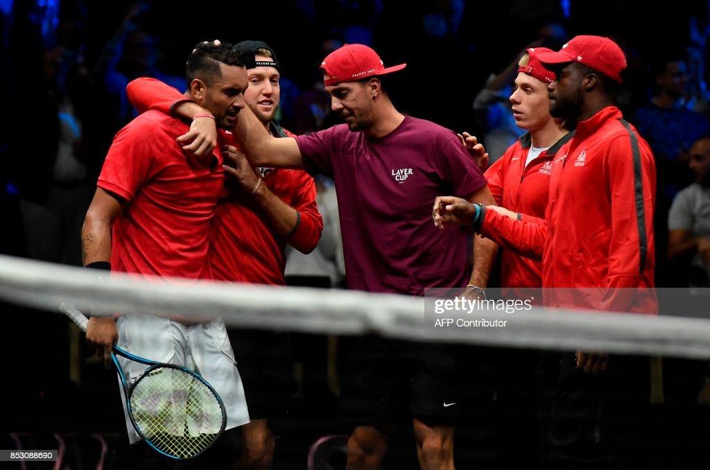 TENNIS-CZE-LAVER-CUP : News Photo