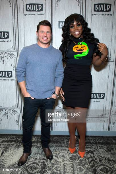 Nick Lachey and Monet X Change at Build Studio on October 30 2019 in New York City