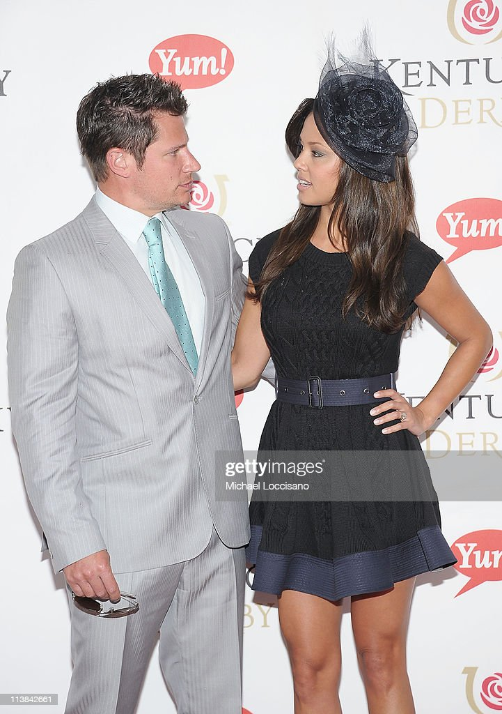 Nick Lachey and Vanessa Minnillo attend the 137th Kentucky Derby at Churchill Downs on May 7, 2011 in Louisville, Kentucky.