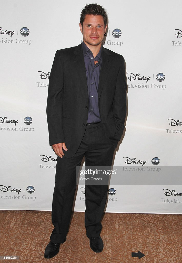 Nick Lachey arrives at the Disney and ABC's 'TCA - All Star Party' on July 17, 2008 at the Beverly Hilton Hotel in Beverly Hills, California.