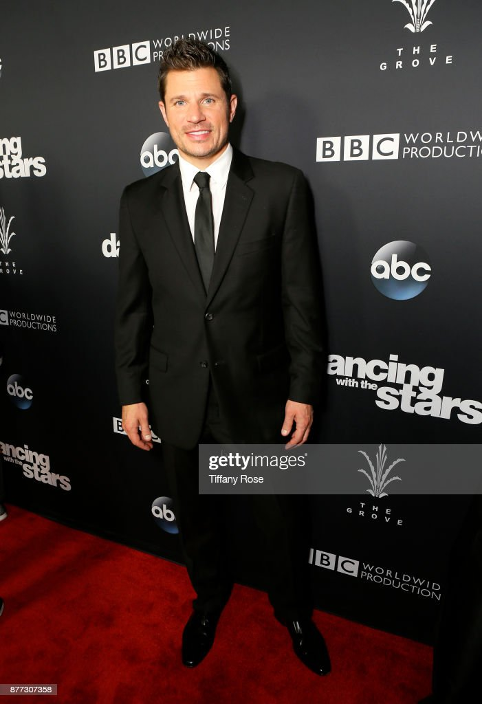 Nick Lachey at The Grove Hosts Dancing with the Stars Live Finale at The Grove on November 21, 2017 in Los Angeles, California.
