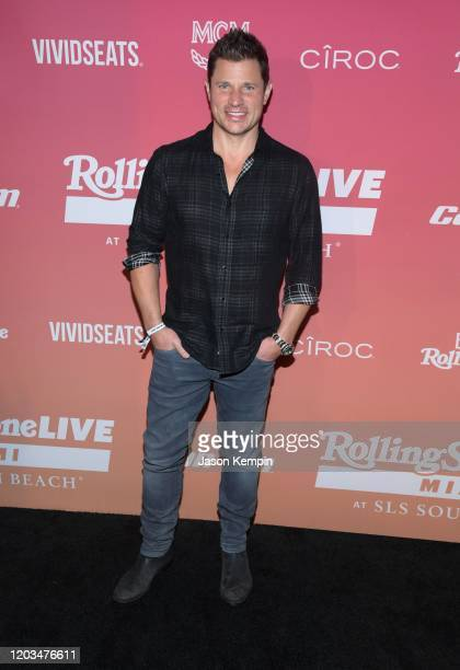 Nick Lachey attends Rolling Stone Live Miami at SLS South Beach on February 01 2020 in Miami Florida