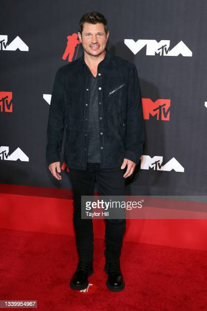 Nick Lachey attends the 2021 MTV Video Music Awards at Barclays Center on September 12, 2021 in the Brooklyn borough of New York City.