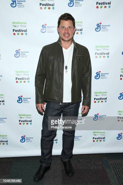 Nick Lachey attends the Wellness Your Way Festival at Duke Energy Convention Center on October 5 2018 in Cincinnati Ohio
