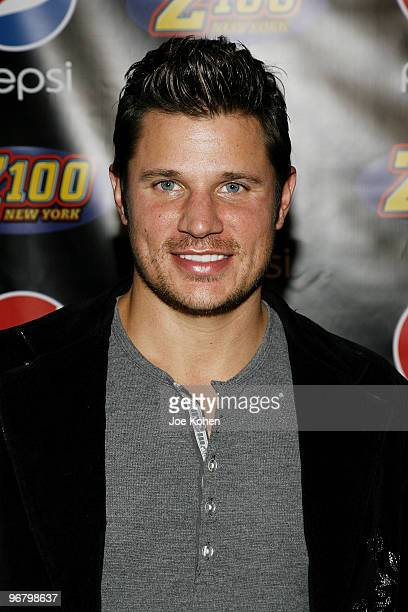 Nick Lachey attends the Z100 & Blackberry All Access Lounge at Roseland Ballroom on December 12, 2008 in New York City.