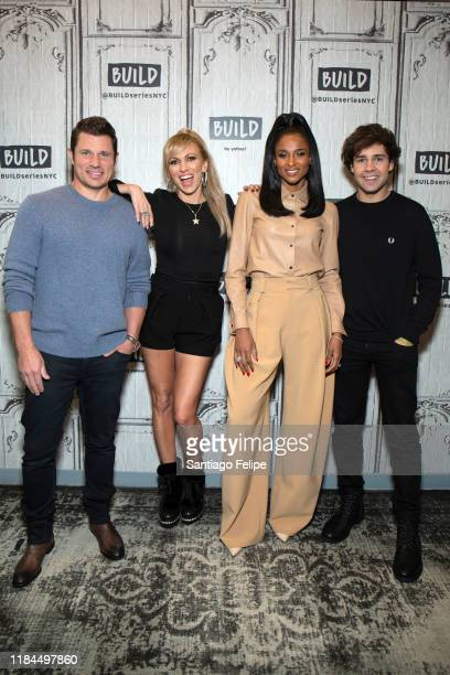 Nick Lachey Debbie Gibson Ciara and David Dobrik visit Build Studio on October 30 2019 in New York City