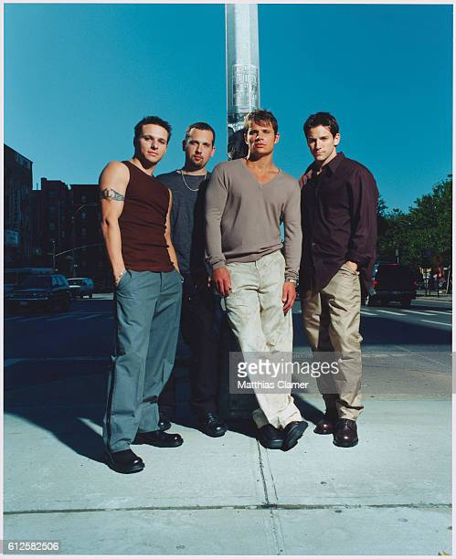 Nick Lachey Drew Lachey Justin Jeffre and Jeff Timmons of 98 Degrees