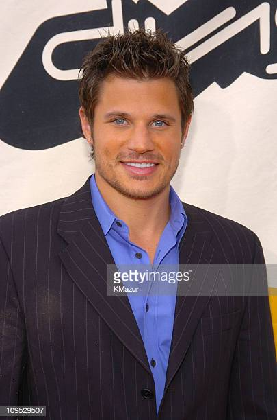 Nick Lachey during 2004 VH1 Divas Benefitting The Save The Music Foundation Red Carpet at The MGM Grand in Las Vegas Nevada United States