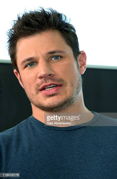 Nick Lachey during 2006 Nickelodeon Kids Choice Awards Nominations at Poolside Cafe Andrew 'Boy' Charlton Pool in Sydney NSW Australia