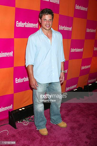 Nick Lachey during Entertainment Weekly's Celebration of The Must List The 137 People Things We Love This Summer Issue Arrivals at CroBar in New York...