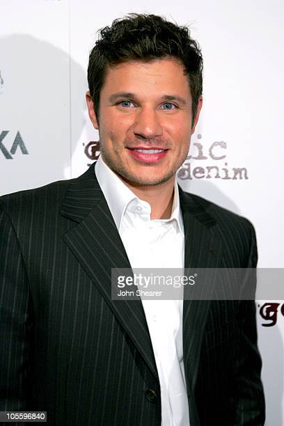 Nick Lachey during Genetic Denim Launch Party Sponsored by Svedka - Arrivals at LAX in Los Angeles, California, United States.