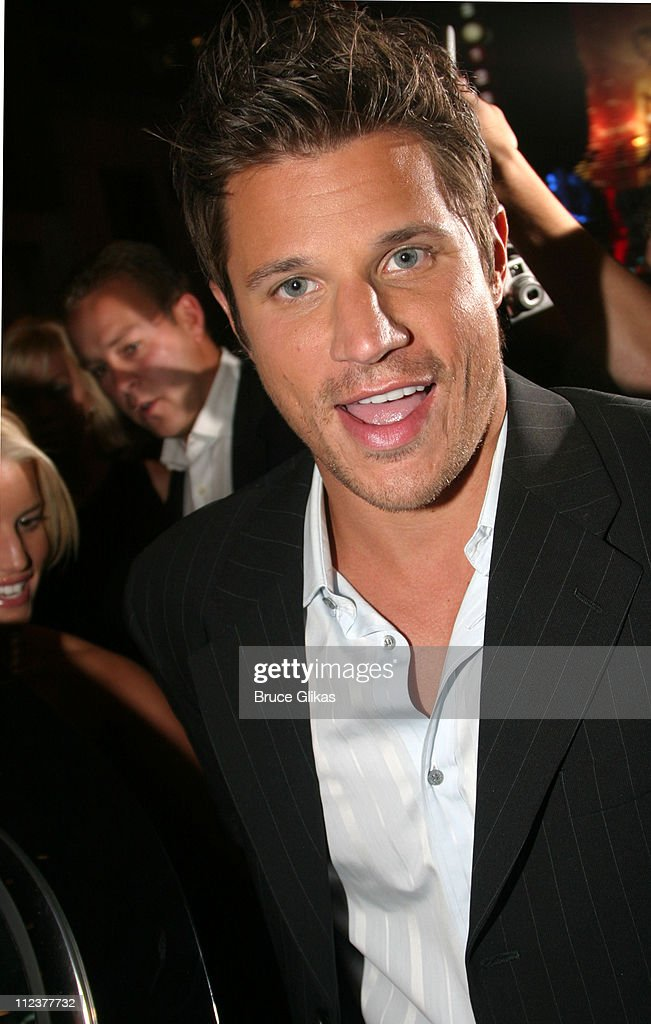 Jessica Simpson and Nick Lachey Visit Drew Lachey at his Broadway Debut in