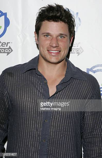 Nick Lachey during Napster To Go Cafe Comes to Los Angeles with Free Digital Music and MP3 Player Giveaways at Mel's DriveIn in West Hollywood...