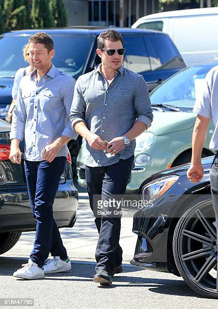 Nick Lachey is seen on March 31 2016 in Los Angeles California