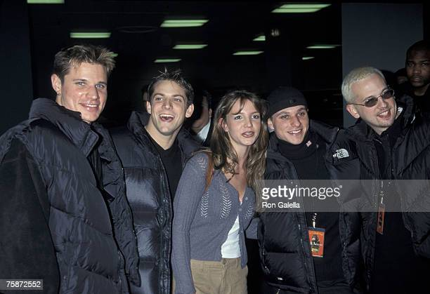 Nick Lachey Jeff Timmons Britney Spears Drew Lachey and Justin Jeffre