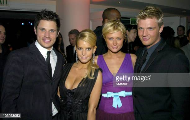 Nick Lachey Jessica Simpson Paris Hilton and Nick Carter